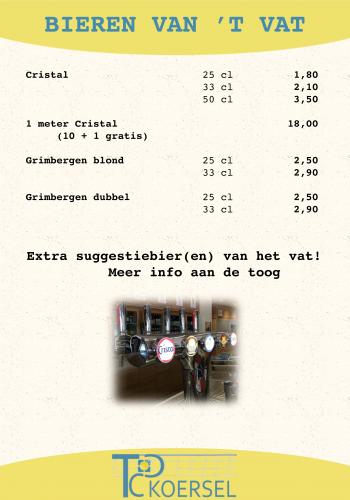 03 Bieren van 't vat